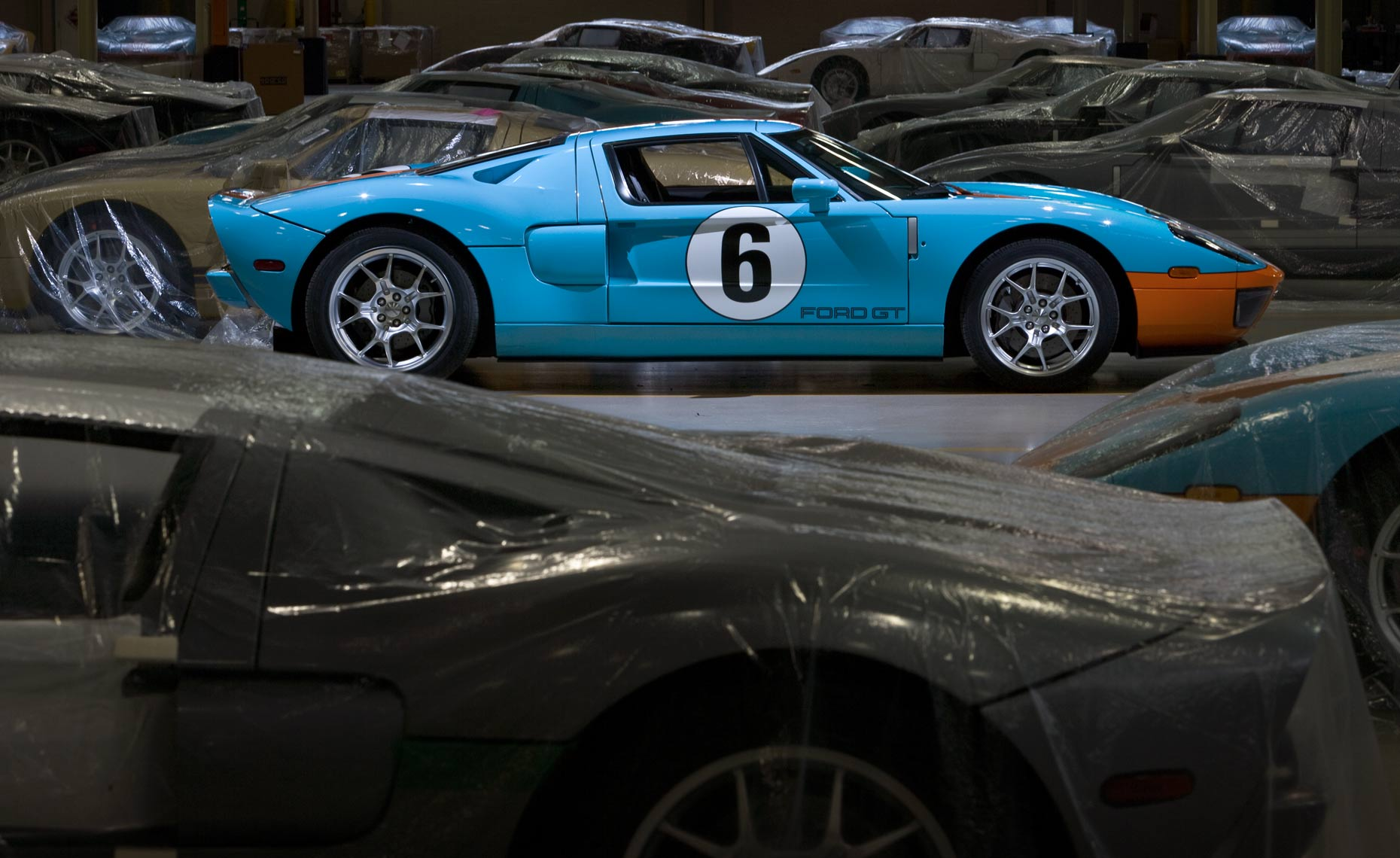Ford-GT-Wixom-plant